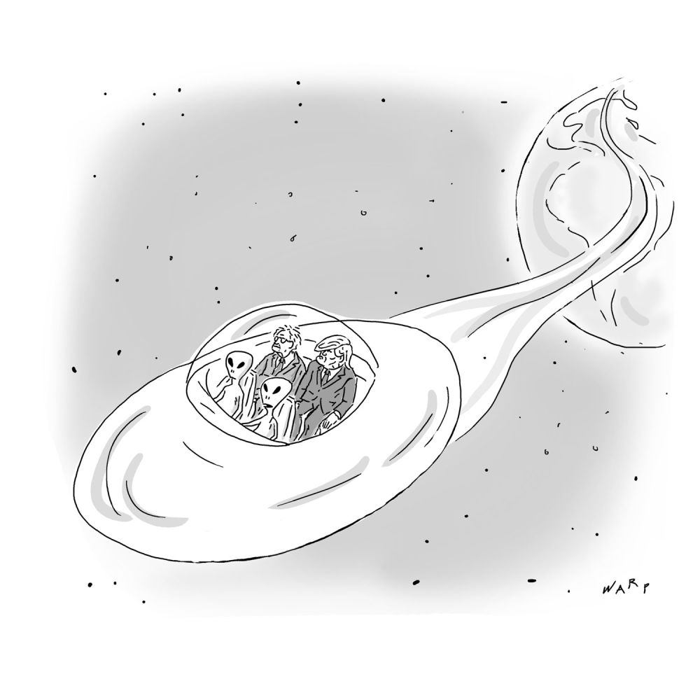 the new yorker daily cartoon amnesia international