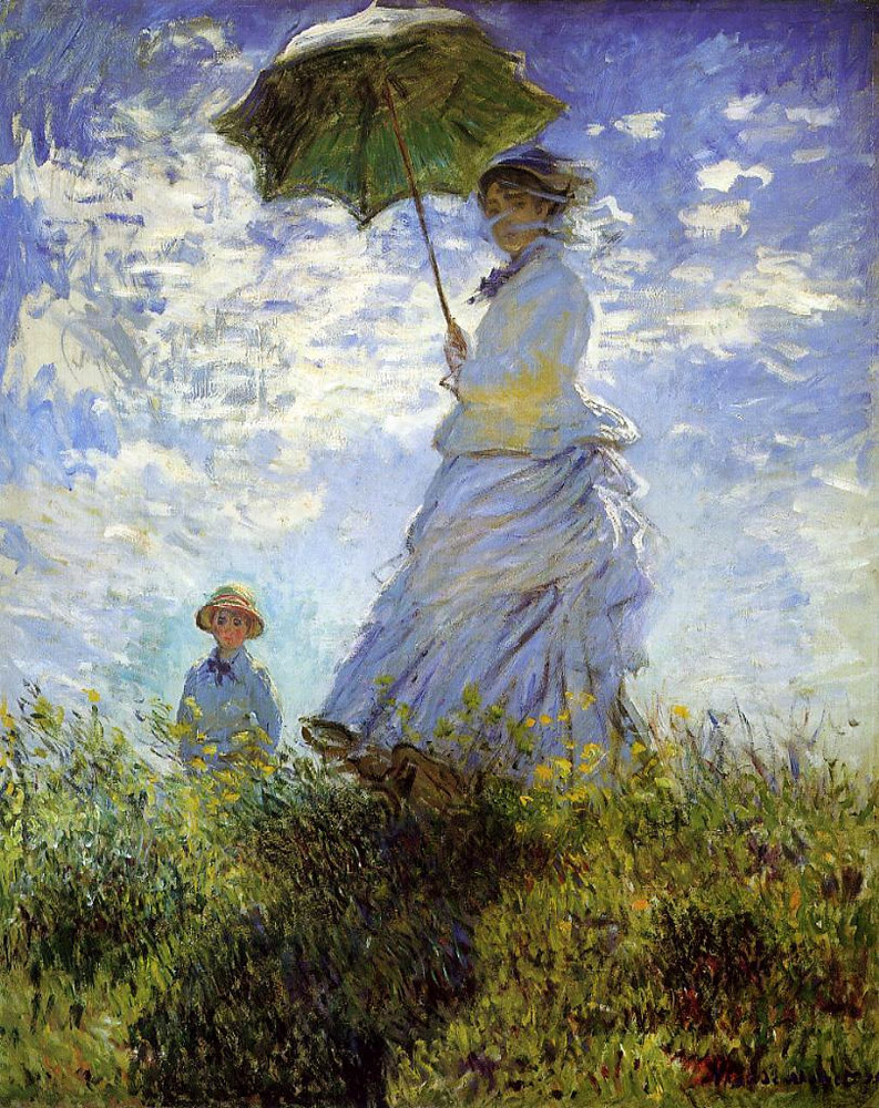 Motivos modernos (Pintura, Fotografía cosas así) - Página 4 Monet-madame-monet-and-her-son