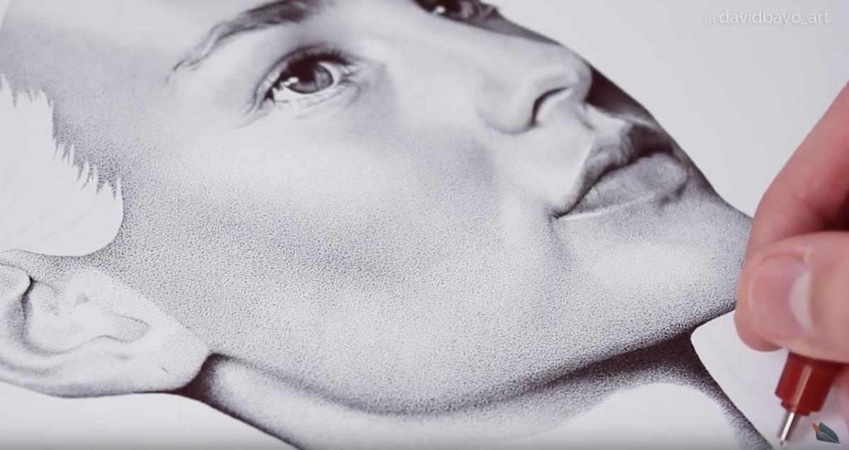 Million Dot Drawing | Amnesia International
